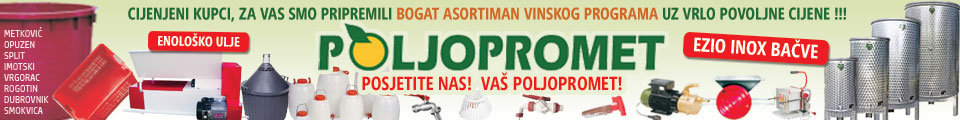 Poljopromet – Vinski program 960×120