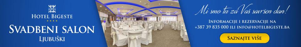 Hotel Bigeste – Svadbeni salon