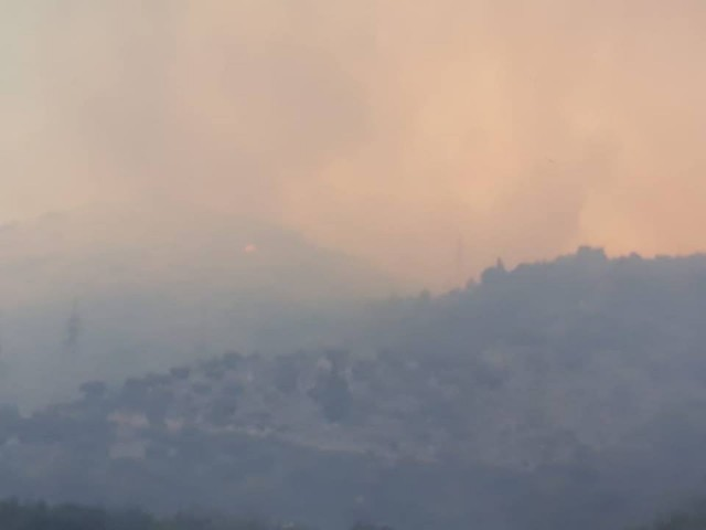 Požar, Bagalovići