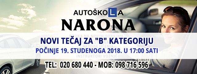 Autoškola Narona, Upis – 640px